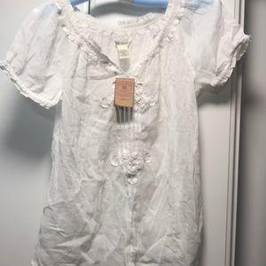 Lucky brand peasant shirt